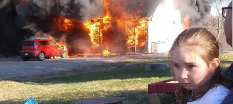 Perry Couple with Two Young Children Loses Everything in Fire